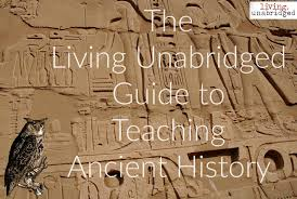teaching ancient history to grammar logic and rhetoric stages