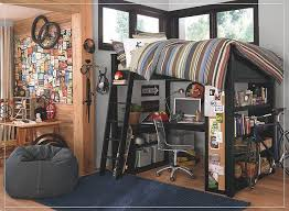 Best Tween Boys Room Images On Pinterest  Beds Bedroom - Half bunk bed