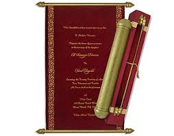 scroll wedding invitations color scroll wedding invitation cards template