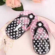 manicure set favors pink flip flop pedicure kit slipper nail manicure set bridal