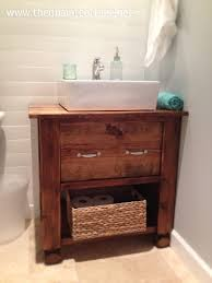 How To Build A Bathroom Vanity Can U0027t Find The Perfect Farmhouse Bathroom Vanity Diy It Page 2