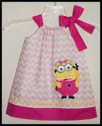 Minion Tutu Dress Etsy Pink Minion Tutu Baby Minion Kennedyandkylie