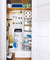 To Organize How To Organize Your Utility Closet Real Simple