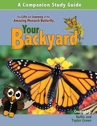 Backyard Science Dvd Learning About Monarch Butterflies Spell Out Loud