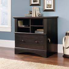 Flat File Cabinet Wood by Sauder Harbor View Lateral File Cabinet Antiqued Paint Walmart Com