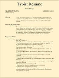 Resume Template Odt Typist Resume Samples For Microsoft Word Doc