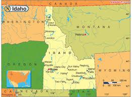 map of idaho cities idaho cities map