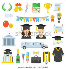 graduation accessories graduation gown stock images royalty free images vectors