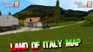 Italy On The Map by Land Of Italy Map V1 1 For Fs 15 Farming Simulator 15 Youtube