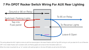 another rear aux back up light switch question toyota fj