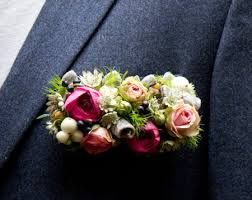 Mens Boutineer Pocket Corsage Bout I Much Prefer This Style To The Traditional