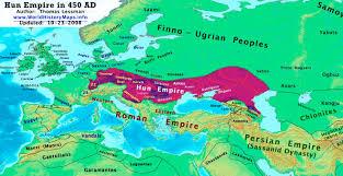 Scandinavia Blank Map by Europa Cradle Of Civilization