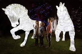 competition win tickets to hunter valley gardens lights