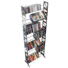 blu ray disc floor rack u0026 shelving bd 392 boltz steel furniture