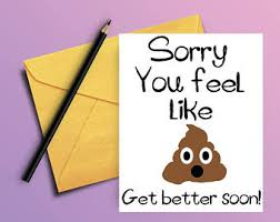 Get Well Soon Meme Funny - get well cards etsy