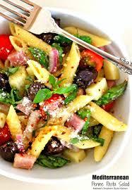 pasta salda mediterranean penne pasta salad melissassouthernstylekitchen com