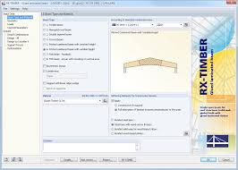 Free Timber Roof Truss Design Software by Rx Timber Package 3 Modules For Timber Design Dlubal Software
