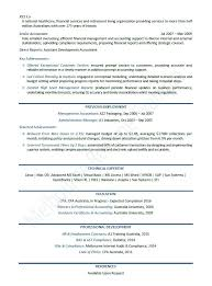 Resume Template Australia Sample Australian Resume Format The Employment Guide Accounting