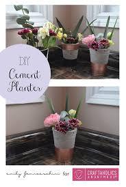 best 25 diy cement planters ideas on pinterest