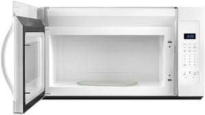 Ventless Microwave Whirlpool White Over The Range Microwave Wmh31017fw