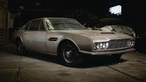 aston martin classic this aston martin dbs spent 30 years in a barn now you can buy it