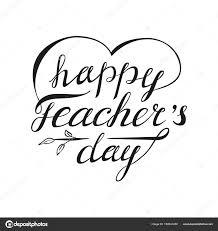 happy teachers day greeting card stock vector ishkrabal 154341250
