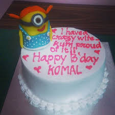 happy birthday komal wishes cake images u0026 sms quotes