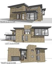 modern home plan plan 44087td modern home plan with views modern house plans