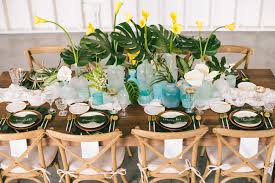 tropical themed wedding tropical barn inspired shoot wedding lombardi house