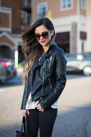leather moto jacket leather jacket u0026 skinny jeans mia mia mine