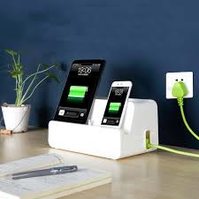 phone charger organizer new desk power cable socket boxes mobile phone charging bracket