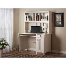 Bush Desk With Hutch Salinas Mission Antique White Finish Hutch Desk Overstock