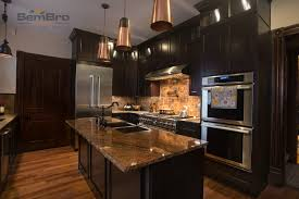 Contractor Kitchen Cabinets Downtown Dark Kitchen Cabinets