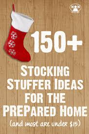 Stocking Stuffers Ideas 150 Stocking Stuffer Ideas For The Prepared Homestead Most