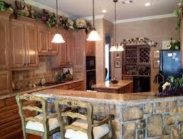 Decorative Kitchen Ideas by Wine Themed Kitchen Ideas Racetotop Com