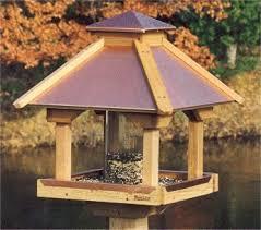copper top bird feeders large capacity and gazebo bird feeders