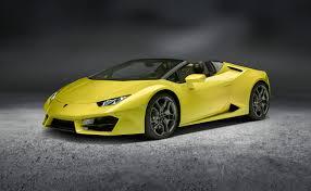 Lamborghini Huracan Back View - lamborghini huracán rear wheel drive spyder u2014 urdesignmag