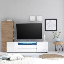 Living Room Set With Tv White Gloss Living Room Furniture With Regard To Encourage