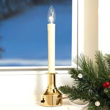 electric candle lights for windows window candle l christmas window candle lights weekendmoms club