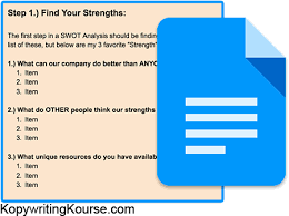 how to do a swot analysis plus free template tool