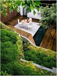 Sloped Front Yard Landscaping Ideas - backyards modern landscape sloped back yard landscaping ideas