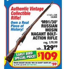 big 5 sporting goods black friday m91 30 russian mosin nagant bolt action rifle 109 big 5 black
