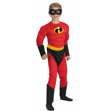 halloween costume kid mr incredible muscle child halloween costume walmart com