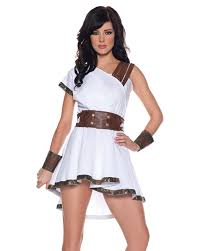 amazon women s halloween costumes amazon com womens roman warrior costume white grecian dress