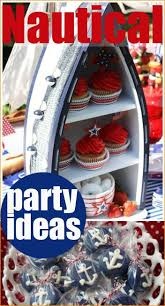 Nautical Party Theme - nautical toddler birthday party ideas nautical party birthday