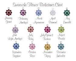 november birthstone name personalized mom necklace family personalized flower birthstone