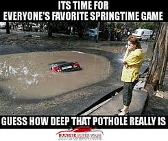 Deep Meme - 6 how deep is that pothole meme buckeye super wash
