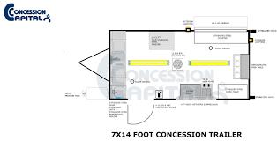 trailer floor plans floorplans