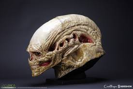 alien resurrection alien newborn life size head prop replica