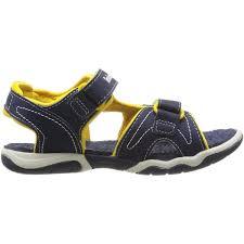 adventure kids sandals navy yellow 4245 6924